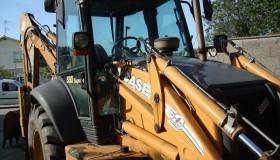 CASE 580 SR